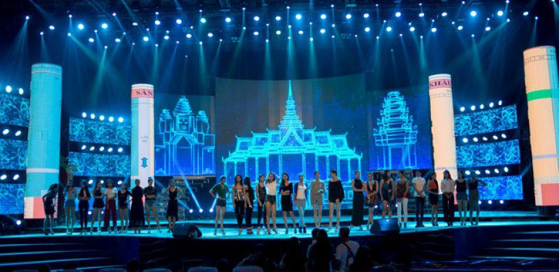 Thiết kế booth - Thiết kế sân khấu ấn tượng, sáng tạo