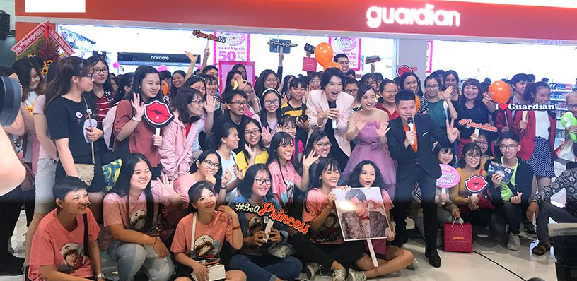 MEET AND GREET GUARDIAN BEAUTY DAYS