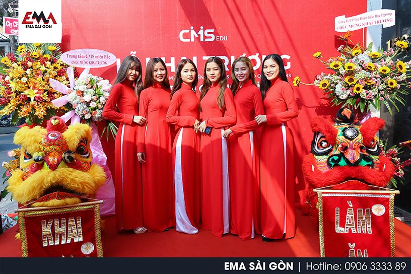 Tổ Chức Lễ Khai Trương CMS Trần Quang Khải