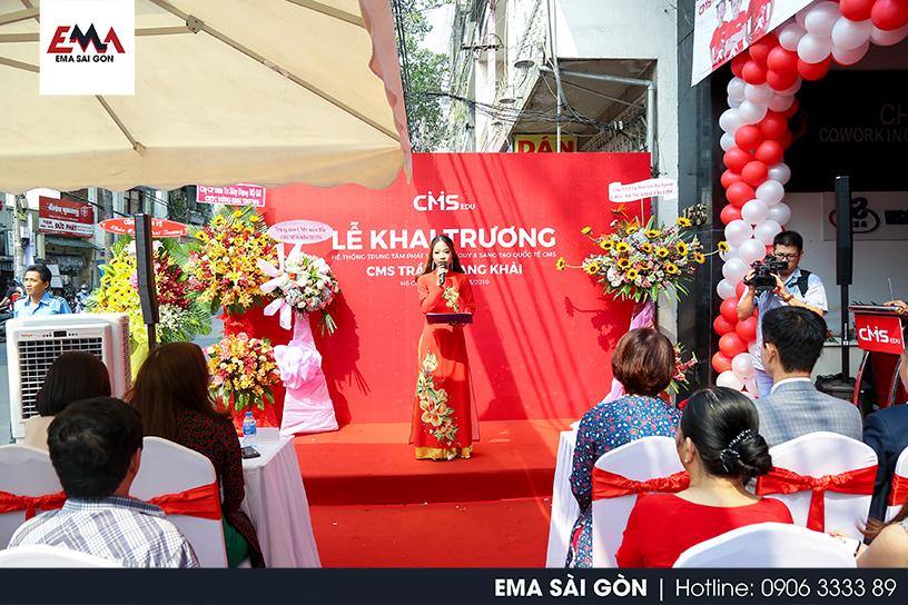 Tổ Chức Lễ Khai Trương Học Viện CMS Trần Quang Khải