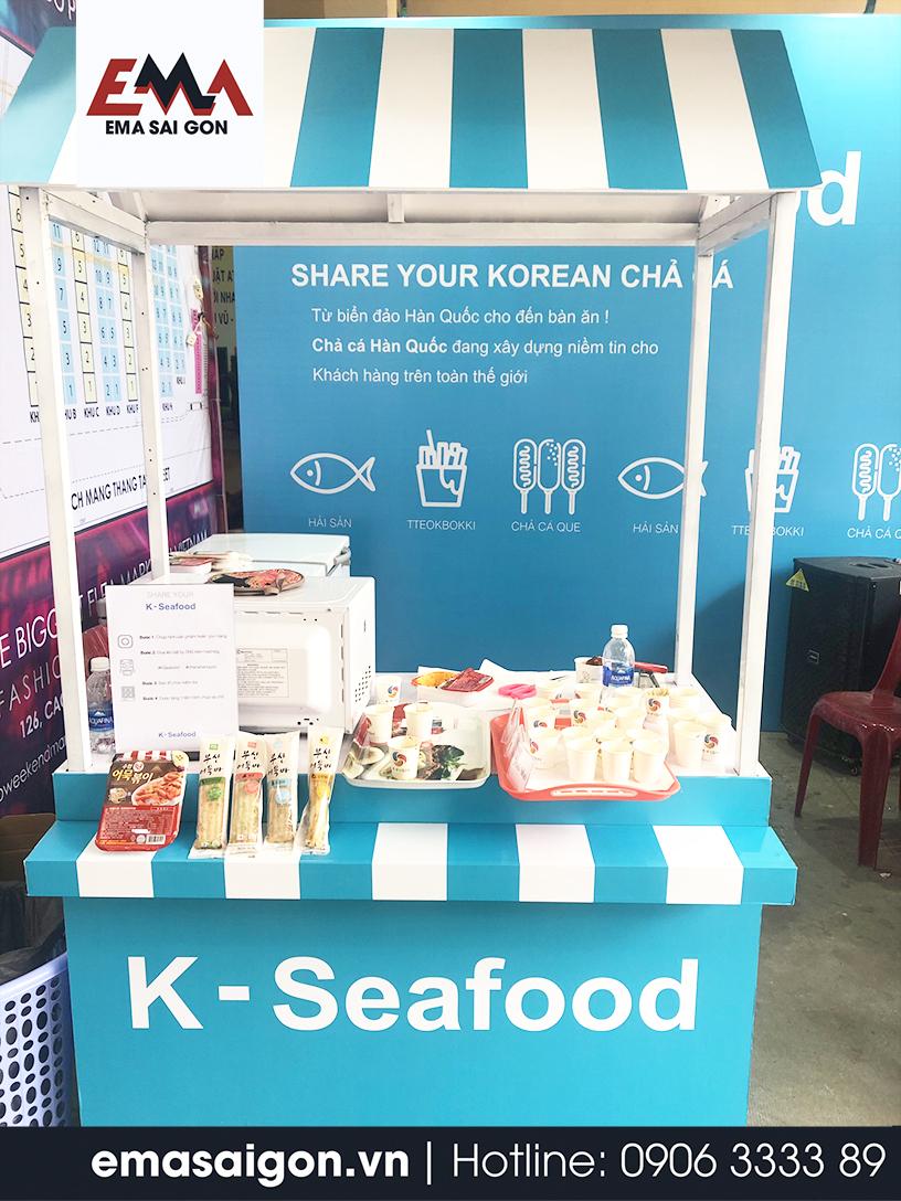 Tổ chức Activation K Fish