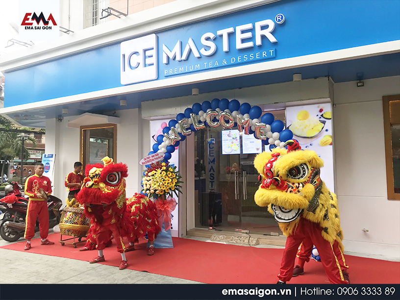 Tổ chức khai trương Ice Master Premium Tea & Dessert