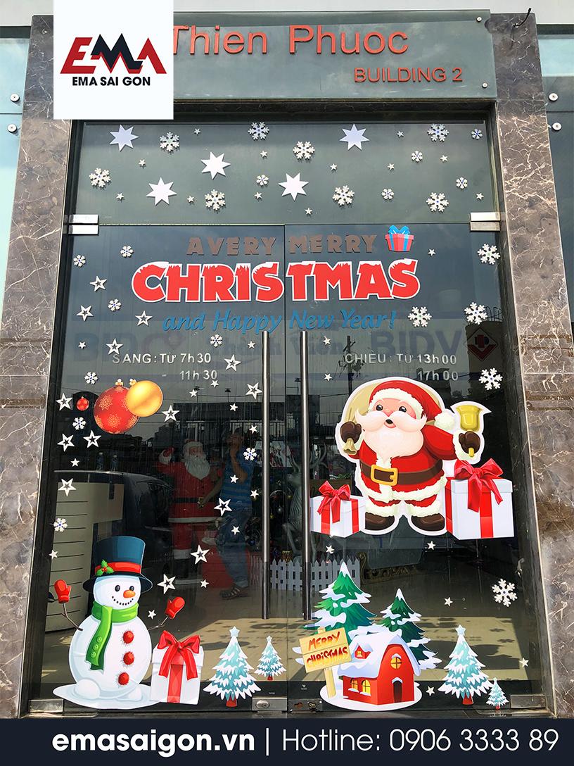 Trang Trí Giáng Sinh Ngân Hàng BIDC