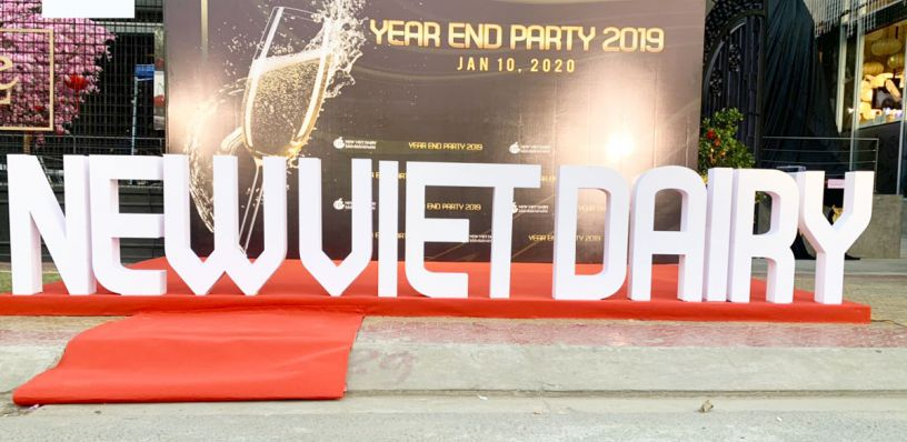 TỔ CHỨC YEAR END PARTY NEW VIỆT DAIRY